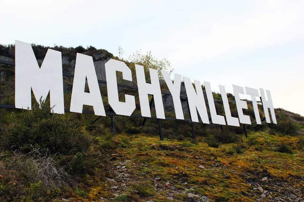 Machynlleth sign