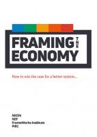 Framing the Economy Report